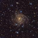 IC342 - Spiral Galaxy in Camelopardalis,                                Stellario