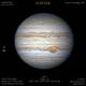 Jupiter GRS & Europa,                                Christofer Báez