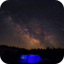 Camping under the Milkyway,                                Michael Southam
