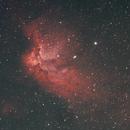 NGC 7380 , the Wizard in the moonlight,                                Detlef Möller