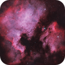 Four Panel Mosaic of NGC 7000,                                Hunter Harling