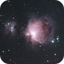 Orion nebula,                                ljkenny
