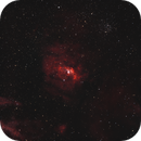 NGC 7635 Bubble Nebula - M52 Star Cluster 20200901 12000s HOO 01.6.4,                                Allan Alaoui