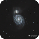 The Whirlpool Galaxy,                                Damien Cannane