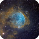 Gabriela Mistral Nebula SHO Hubble Palette,                                Scotty Bishop