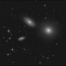 Galaxy Trio in Leo and 2 Asteroids,                                sky-watcher (johny)