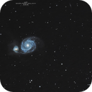 M51, The Whirlpool Galaxy, 05-06-2019,                                Martin (Marty) Wise