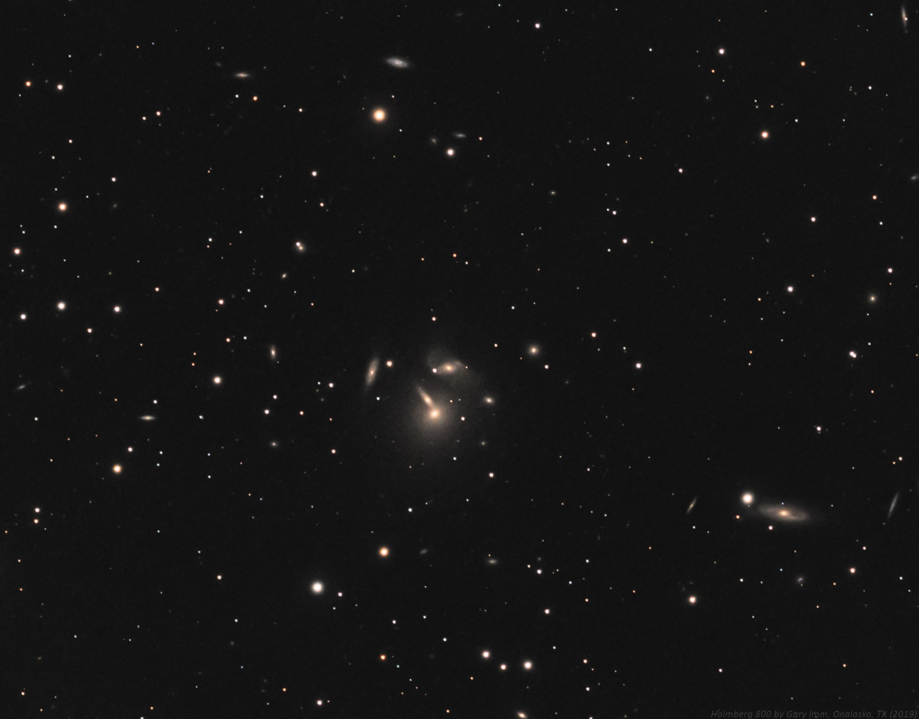NGC 7436 Galaxy Group,                                Gary Imm