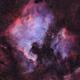 North America Nebula and Pelican Nebula in Narrowband,                                Nico Carver