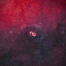NGC6164/NGC6165 Bipolar emission nebula and the dust around in HOO,                                johnnywang