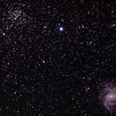 NGC 6939 and NGC 6946,                                Alan Coffelt