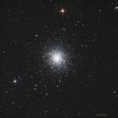 M 13  Globular Cluster ·  NGC 6205  ·  NGC 6207,                                Rob Kottink