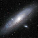 M31, the Andromeda Galaxy,                                Wei-Hao Wang