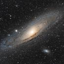 Andromeda galaxy - M31,                                Stefano Boccardo