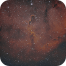 Elephant Trunk Nebula(faux Hubble Pallet),                                Jim