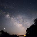 Milky Way from Orient Point, Long Island -- Shot 1,                                ks_observer