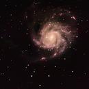 M101 mit H-Apha,                                Deepstar