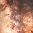 Eagle Nebula and Surrounding Milky Way Structure,                                Joey Wishart