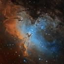 Eagle Nebula M16 at 2000mm,                                avarakin