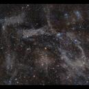 Predator-Prey Nebula - a 5 panel RASA mosaic,                                Göran Nilsson