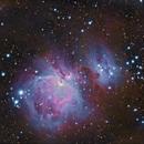 M42 and M43,                                dkamen