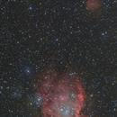 NGC2174 Monkeyhead Nebula region,                                Masahiro Takahashi