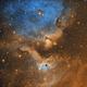 Soul Nebula IC1871 (SE London),                                Carastro