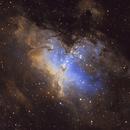 Nebulosa Aquila M16,                                Paolo Mason