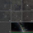 Open Clusters in Scorpio, Sagittarius, Scutum and Aquarius,                                petelaa