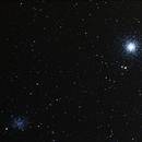 M 53 et NGC 5053,                                Bernard Pâris
