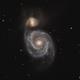 Messier 51 - Whirlpool galaxy,                                Doc_HighCo