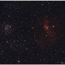 NGC 7635 y M52,                                Jesús M. Vargas