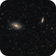 Messier 81 and Messier 82,                                Dominik Ball