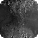 Moon 2019-02-13. Highlands between Sinus Aestuum and Mare Vaporum (second try).,                                  Pedro Garcia