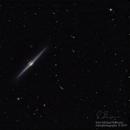 Caldwell 38- The Needle Galaxy,                                  John Michael Bell...
