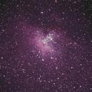 M16 The Eagle Nebula,                                Manicsponge