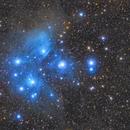 The Pleiades / Subaru (M45),                    brent1123