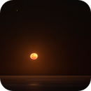 Mars in conjunction with the rising Moon over Long Reef Headland, Sydney, NSW,                                Niall MacNeill