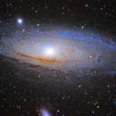 M31 PixInsight ,                                Dan Pelzel