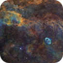 Ngc 6888- la nébuleuse du croissant SHO,                                astromat89