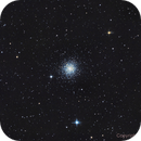 M15,  Cluster in the constellation Pegasus,                                Blueastrophotography