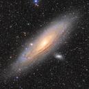 Andromeda under camera lens,                                Pleiades Astropho...