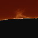 Timelapse of the sun  - Prominences (7/3.2021),                                Mathias Böhme