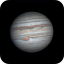 Jupiter and the GRS,                                *philippe Gilberton