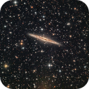 NGC 891 - Edge on Anatomy of a Galaxy,                                Paddy Gilliland
