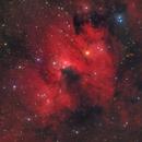 Cave Nebula - Sh2-155 - LHORGB,                                Alessio Pariani