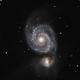 M51 - Whirlpool Galaxy,                                Rhinottw