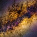 Milky Way Core,                                  Colin