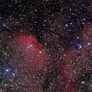 SH2-101 - Tulip nebula,                                Bram Goossens