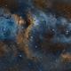 IC1848 Soul Nebula SHO 2 Panel Mosaic,                                Matthew Chan
